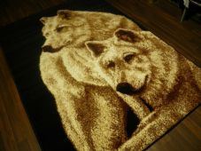 Animal Rugs Aprox 6x4ft 120x170cm Woven Wolfs Design Quality rug Bargain Prices